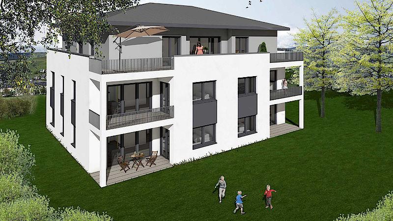 Mehrfamilienhaus Zschorlau